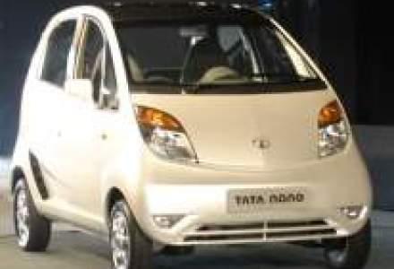 Tata Motors vrea sa exporte cea mai ieftina masina din lume in Romania