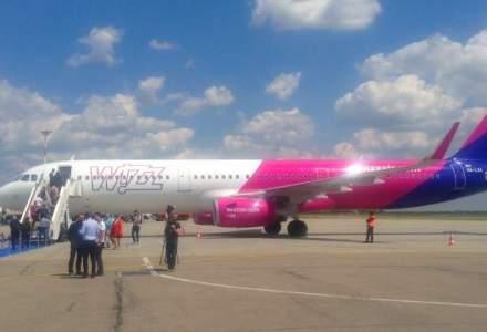 Wizz Air mareste flota cu prima aeronava Airbus A321, cu 230 de locuri, in baza de la Bucuresti