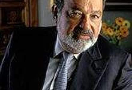 Averea lui Carlos Slim creste datorita castigurilor de pe bursa
