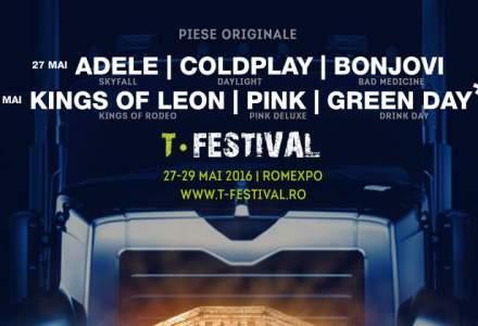 (P) T-Festival, cel mai mare festival de trupe tribut din Europa, va avea loc intre 27 si 29 mai la Romexpo