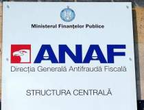 ANAF, amendata pentru lista...