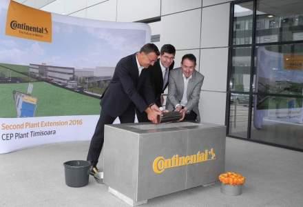 O noua investitie intr-o fabrica de componente Continental din Timisoara