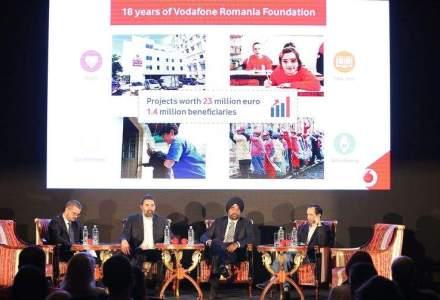 Fundatia Vodafone Romania: Am investit 23 de milioane de euro in educatie, sanatate si servicii sociale