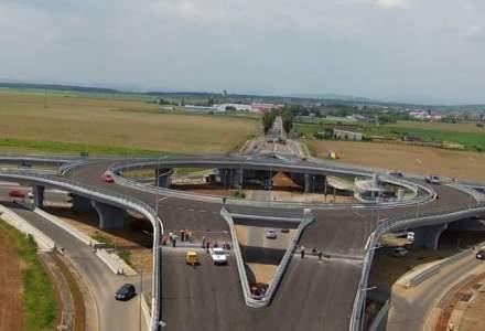 Sensul giratoriu suspendat din Prahova va fi deschis traficului rutier sambata