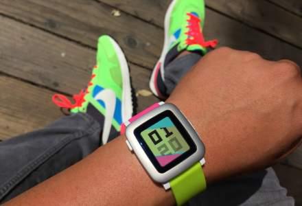 Smartwatch-ul Pebble Time, copilul teribil al gadgeturilor