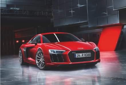Un Audi R8 V10 Plus va circula din iunie in Romania