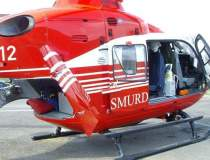 Elicopter SMURD, prabusit in...