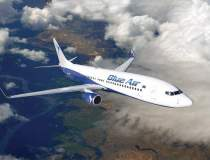Blue Air a lansat zboruri...