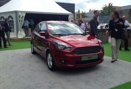 Ford lanseaza KA+, model concurent cu Dacia Sandero