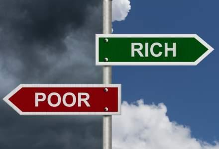 Eurostat: Romania, tara cu cea mai mare inegalitate dintre bogati si saraci din UE