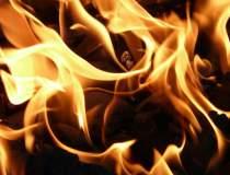 Incendiul izbucnit la...