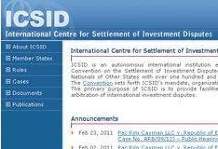 Avocatii de la Leaua si Lalive vor lua 1,38 mil. lei pentru reprezentarea Statului la ICSID
