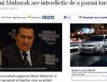 Hosni Mubarak are interdictie...