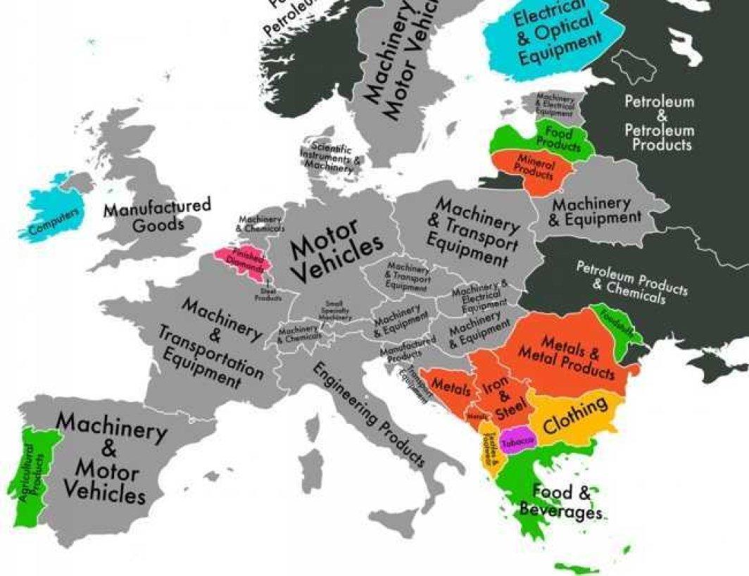 Harta Care Arata Cea Mai Valoroasa Resursa Din Fiecare Tara Vezi