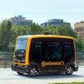 Asa vor arata taxiurile viitorului: Continental Cube este un vehicul care se va conduce singur in orasele aglomerate