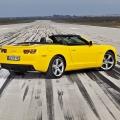 Test drive cu Chevrolet Camaro: Un V8 american, pe pista unui aeroport din Croatia - Foto 1