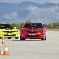 Test drive cu Chevrolet Camaro: Un V8 american, pe pista unui aeroport din Croatia - Foto 13