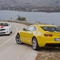 Test drive cu Chevrolet Camaro: Un V8 american, pe pista unui aeroport din Croatia - Foto 14