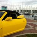 Test drive cu Chevrolet Camaro: Un V8 american, pe pista unui aeroport din Croatia - Foto 18