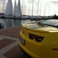 Test drive cu Chevrolet Camaro: Un V8 american, pe pista unui aeroport din Croatia - Foto 20