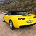 Test drive cu Chevrolet Camaro: Un V8 american, pe pista unui aeroport din Croatia - Foto 21