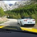 Test drive cu Chevrolet Camaro: Un V8 american, pe pista unui aeroport din Croatia - Foto 24