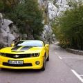 Test drive cu Chevrolet Camaro: Un V8 american, pe pista unui aeroport din Croatia - Foto 26