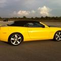Test drive cu Chevrolet Camaro: Un V8 american, pe pista unui aeroport din Croatia - Foto 31