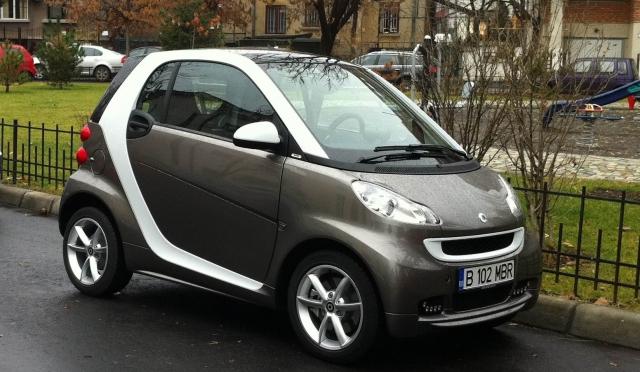 Test-drive Wall-Street: Smart ForTwo coupe, o prezenta distinctiva in oras - Foto 1 din 28