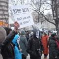 Protest ACTA - Foto 12 din 35