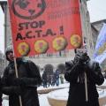 Protest ACTA - Foto 17 din 35