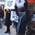 Protest ACTA - Foto 30 din 35