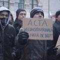Protest ACTA - Foto 32 din 35