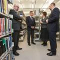 Deschiderea Bibliotecii Nationale a Romaniei - Foto 2 din 48
