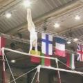 Echipa feminina de gimnastica a Romaniei la Campionatul European - Foto 3 din 7