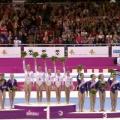 Echipa feminina de gimnastica a Romaniei la Campionatul European - Foto 4 din 7