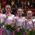 Echipa feminina de gimnastica a Romaniei la Campionatul European - Foto 1 din 7