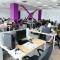 Un birou senzorial: Tone de cabluri in podea si un glob disco - Foto 10