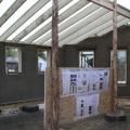 Casele din baloti de paie: Cel mai nou pariu al unor tineri in domeniul constructiilor ecologice - Foto 2