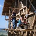 Casele din baloti de paie: Cel mai nou pariu al unor tineri in domeniul constructiilor ecologice - Foto 3