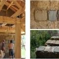 Casele din baloti de paie: Cel mai nou pariu al unor tineri in domeniul constructiilor ecologice - Foto 4