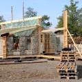 Casele din baloti de paie: Cel mai nou pariu al unor tineri in domeniul constructiilor ecologice - Foto 5