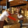 Casele din baloti de paie: Cel mai nou pariu al unor tineri in domeniul constructiilor ecologice - Foto 11