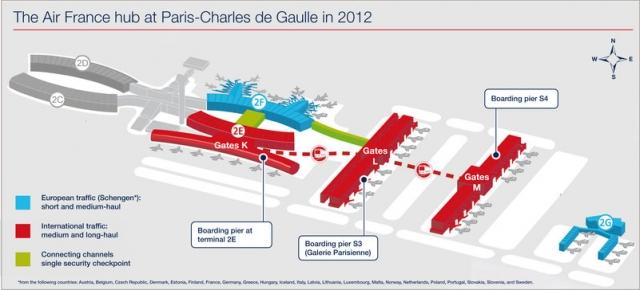 Aeroports de Paris si Air France au deschis cel mai modern boarding lounge - Foto 1 din 22