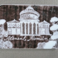 Bucurestiul turistic, in magneti din portelan pictat manual - Foto 1 din 6