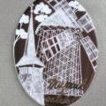 Bucurestiul turistic, in magneti din portelan pictat manual - Foto 4 din 6