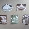 Bucurestiul turistic, in magneti din portelan pictat manual - Foto 5 din 6