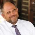 La pranz cu bancherul Sergiu Oprescu, presedintele Alpha Bank - Foto 1 din 7