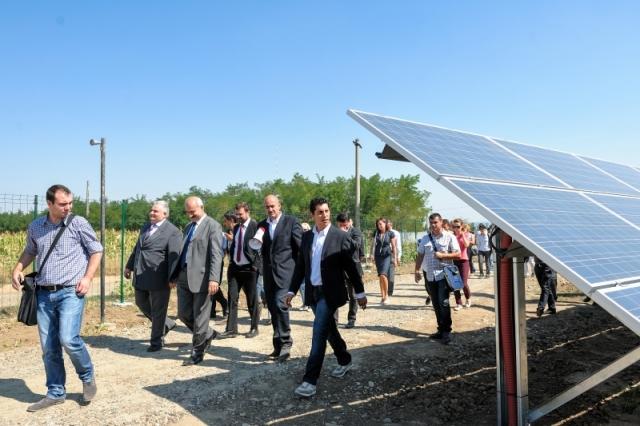 Cum arata parcul fotovoltaic dezvoltat in Vrancea cu know-how danez si portughez (Galerie Foto) - Foto 7 din 28