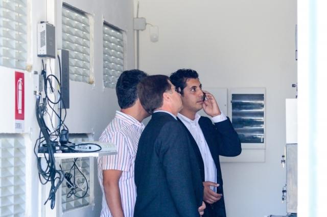 Cum arata parcul fotovoltaic dezvoltat in Vrancea cu know-how danez si portughez (Galerie Foto) - Foto 10 din 28